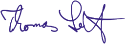 Unterschrift Thomas Seitz